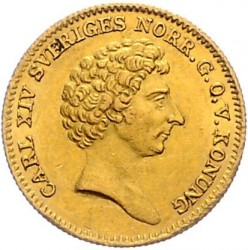Pièce > 1ducat, 1835-1843 - Suède  - obverse