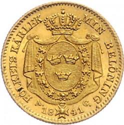 Pièce > 1ducat, 1835-1843 - Suède  - reverse