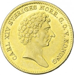 Mynt > 1dukat, 1835-1843 - Sverige  - obverse