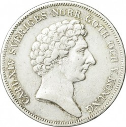 Moneda > 1riksdalerspecie, 1831-1842 - Suecia  - obverse