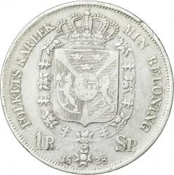Moneda > 1riksdalerspecie, 1831-1842 - Suecia  - reverse
