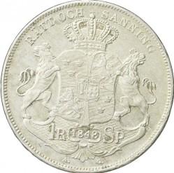 硬币 > 1瑞斯代勒斯贝, 1845-1855 - 瑞典  - reverse