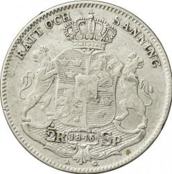 Mynt > ½riksdalerspecie, 1845-1852 - Sverige  - reverse