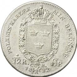 Монета > 1/12ригсдалерспесие, 1831-1833 - Швеция  - reverse