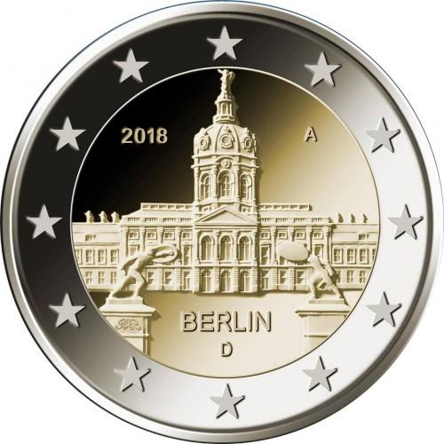 2 Euro 2018 Berlin Deutschland Münzen Wert Ucoinnet