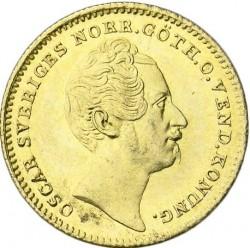 العملة > 1دوكات , 1845-1859 - السويد  - obverse