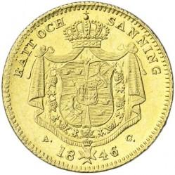العملة > 1دوكات , 1845-1859 - السويد  - reverse