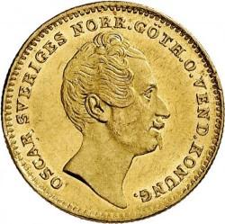 Pièce > 1ducat, 1845-1859 - Suède  - obverse