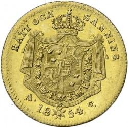 מטבע > 1דוקאט, 1845-1859 - שוודיה  - reverse