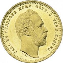 Mynt > 1dukat, 1860-1868 - Sverige  - obverse
