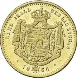 Mynt > 1dukat, 1860-1868 - Sverige  - reverse