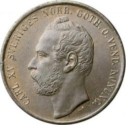 Münze > 5Öre, 1860-1872 - Schweden   - obverse