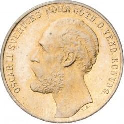 Monedă > 2ore, 1873 - Suedia  - obverse