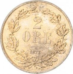 Monedă > 2ore, 1873 - Suedia  - reverse