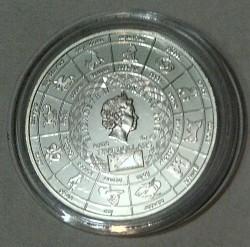 Moneta > 5dolarów, 2012 - Tokelau  (Znaki zodiaku - Byk) - obverse
