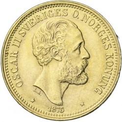 Münze > 20Kronen, 1873-1876 - Schweden   - obverse