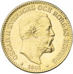 Münze > 10Kronen, 1901 - Schweden   - obverse