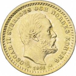 錢幣 > 5克朗, 1901 - 瑞典  - obverse