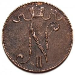 Moneda > 5penniä, 1912 - Finlandia  - obverse