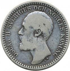 Münze > 2Kronen, 1878-1880 - Schweden   - obverse