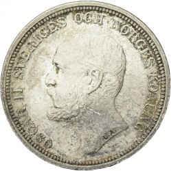 Mynt > 2kronor, 1890-1904 - Sverige  - obverse