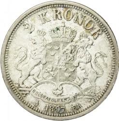 Mynt > 2kronor, 1890-1904 - Sverige  - reverse