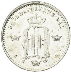Pièce > 10ore, 1874-1876 - Suède  - obverse