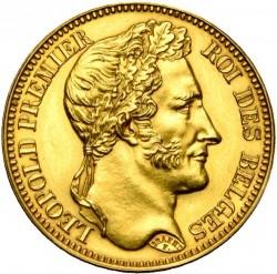Moneta > 40franków, 1834-1841 - Belgia  - obverse