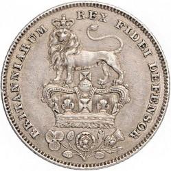 Монета > 6пенсів, 1826-1829 - Велика Британія  - reverse