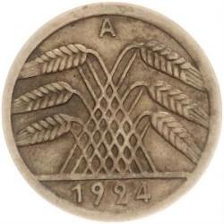 Moneda > 50reichspfennig, 1924-1925 - Alemania  - obverse