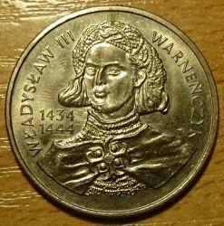 Монета > 10000злотых, 1992 - Польша  (Владислав III Варненьчик (1434-1444)) - reverse
