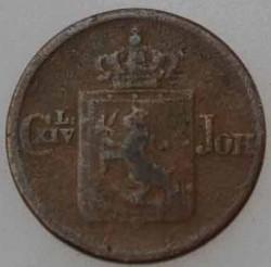 Moneda > ½skilling, 1837-1841 - Noruega  - reverse