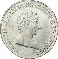 Moneta > ½speciedaler, 1819-1824 - Norwegia  - obverse