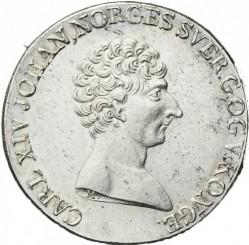 Монета > ½спесиедалер, 1819-1824 - Норвегия  - obverse