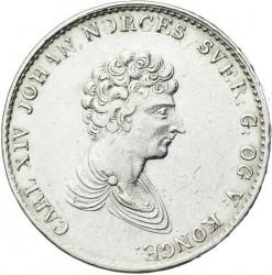 Moneda > ½speciedaler, 1827-1836 - Noruega  - obverse
