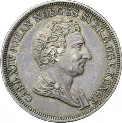 Moneda > ½speciedaler, 1844 - Noruega  - obverse