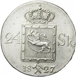 Moneda > 24skilling, 1825-1836 - Noruega  - reverse