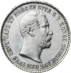 Moneda > 24skilling, 1862 - Noruega  - obverse