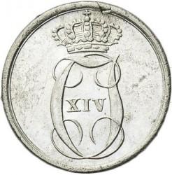 Moneda > 2skilling, 1842-1843 - Noruega  - obverse