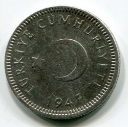 Moneta > 50kurušų, 1947-1948 - Turkija  - reverse