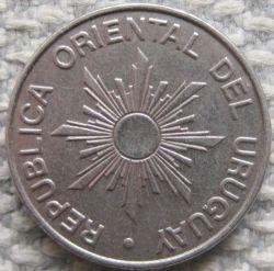 Moneda > 10nuevospesos, 1989 - Uruguay  - reverse