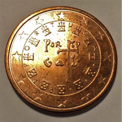 5 Cent 2018 Portugal Münzen Wert Ucoinnet