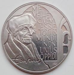 Monedă > 10ECU, 1991 - Regatul Țărilor de Jos  (Erasmus of Rotterdam) - reverse