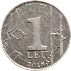 Moneda > 1leu, 2018 - Moldavia  - reverse