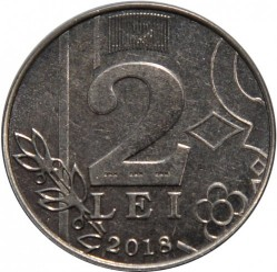 Moneta > 2lėjos, 2018 - Moldavija  - obverse