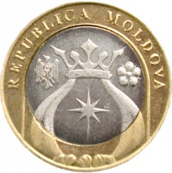Moneda > 5lei, 2018 - Moldavia  - reverse