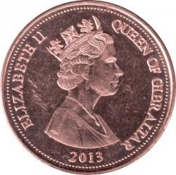 מטבע > 2פנס, 2012-2013 - גיברלטר  - obverse