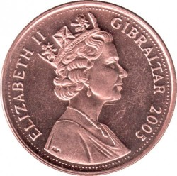 מטבע > 2פנס, 2005-2011 - גיברלטר  - obverse