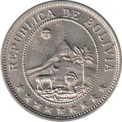 Монета > 50сентавос, 1939 - Боливия  - obverse