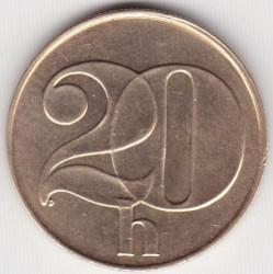 Кованица > 20хелера, 1991-1992 - Чехословачка  - obverse